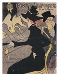 Plakat Divan Japonais, 75 Rue Des Martyres Lámina giclée por Henri de Toulouse-Lautrec