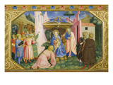 Adoration of the Magi from the Predella of the Annunciation Altarpiece Prints by  Fra Angelico