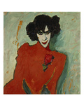Portrait of the Dancer Alexander Sacharoff, 1909 Giclee Print by Alexej Von Jawlensky