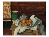 Still Life, about 1885 Print by Paul Cézanne