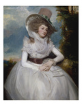Portrait of Catherine Clements, 1788 Giclee Print by George Romney