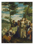 Moses Rescued from the Nile, about 1580 Giclee Print by Paolo Veronese