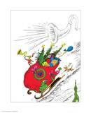 The Grinch's Heart Grew Three Sizes Poster by Theodor (Dr. Seuss) Geisel