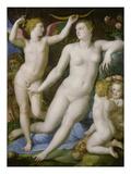 Venus, Amor Und Die Eifersucht Poster