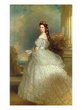 Empress Elizabeth of Austria (Sissi), 1865 Prints by Franz Xaver Winterhalter