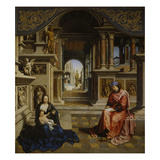 St. Luke Painting the Virgin Giclee Print by Jan Gossaert