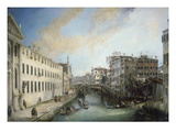 Il Rio Dei Mendicanti Prints by  Canaletto