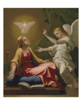 Annunciation Poster by Nicolas Poussin
