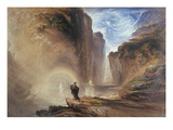 Manfred and the Witch of the Alps, 1837 Giclee Print by John Martin