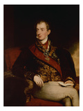 Prince Metternich, Austrian Statesman , 1815 Plakater af Thomas Lawrence