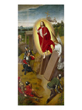 Resurrection of Christi. (Right Panel of a Domestic Altar) Giclee Print by Hans Memling