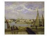 View of the Inner Harbour of Dunkerque, 1873 Posters by Jean-Baptiste-Camille Corot