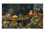 Vegetable Stall Giclee Print by Frans Snyders