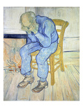 On the Threshold of Eternity (Old Man in Sorrow), 1890 Print by Vincent van Gogh