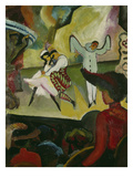 Russian Ballett I., 1912 Prints by Auguste Macke