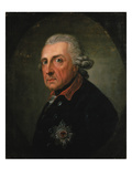 Frederick Ii (The Great) of Prussia, 1781 Giclee Print by Anton Graff