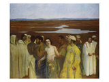 Joseph Sold by His Brothers into Egypt Giclee Print by Karoly Ferenczy