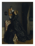 In the Boudoir, about 1865() Prints by Alfred Stevens