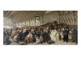 The Train Station, 1862 Giclee Print by William Powell Frith