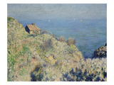 Customs House at Varengeville Giclee Print by Claude Monet