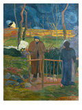 Bonjour, Monsieur Gauguin, 1889 Giclee Print by Paul Gauguin