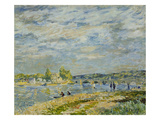 The Bridge Near Sevres, 1877 Giclee Print by Alfred Sisley