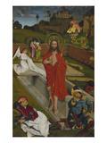 Hofer Altar, Re.Fluegel Innen: Auferstehung Christi Giclee Print by Hans Pleydenwurff