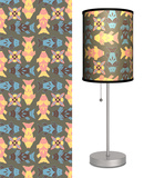 Deco Fish with Grey - Table Lamp Table Lamp