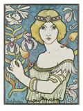 Von Paul Berton (1872-1909) Fuer die 17. Ausstellung des Salon des Cent 1895 Giclee Print by Paul Berton