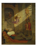 The Dream of the Prisoner, 1836 Prints by Moritz Von Schwind