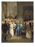 King Otto Leaves the Court in Munich 1832 Giclee Print by Philipp Foltz