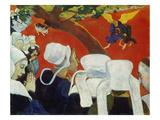 Vision Nach Der Predigt, 1888 Giclee Print by Paul Gauguin
