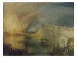Der Brand Des Parlamentsgebaeudes Giclee Print by J. M. W. Turner
