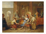 The Death of Cleopatra Giclee Print by Johann Rudolf Byss