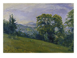 Palantine Landscape, 1914 Print by Max Slevogt