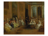 The Concert Prints by Nicolas Lancret