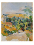 Bend of the Road, 1900/06 Posters by Paul Cézanne