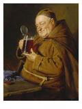 Beer Tasting, 1905 Giclee Print by Eduard Grutzner
