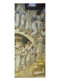The Golden Stairs, 1888 Poster by Edward Burne-Jones