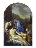 Grablegung Christi, 1703 Prints by Adriaan van der Werff
