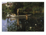 The Bathing Spot, about 1890 Giclee Print by William Stott