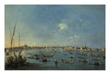Regatta on the Canale Della Giudecca Posters by Francesco Guardi
