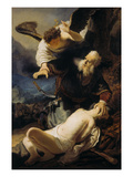 The Sacrifice of Isaac, 1636 Giclee Print by  Rembrandt van Rijn