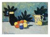 Still-Life with Fruit, about 1910 Print by Alexej Von Jawlensky