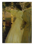 Summer Evening (Or: Farewell), about 1895 Giclee Print by Ludwig von Herterich