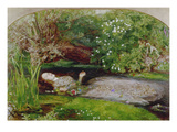 Ophelia, 1851/1852 Prints by John Everett Millais