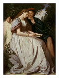 Paolo Und Francesca, 1864 Giclee Print by Anselm Feuerbach