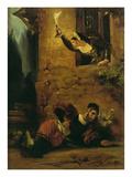 Der Sterbende Valentin, um 1830 Prints by Eugène Delacroix