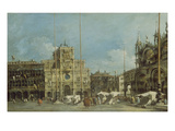 The Clock Tower on St. Mark's Square, about 1775 Prints by Francesco Guardi