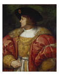 Portrait of the Hungarian King Lajos Ii, 1st Half of the 16th Century Giclee Print by  Italian
